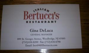 Bertuccis Woodbridge NJ