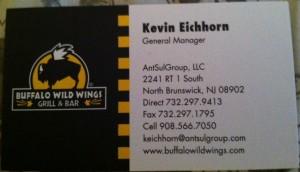 Buffalo Wild Wings NJ