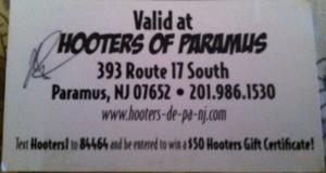 Hooters NJ