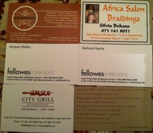 Business Cards South Africa