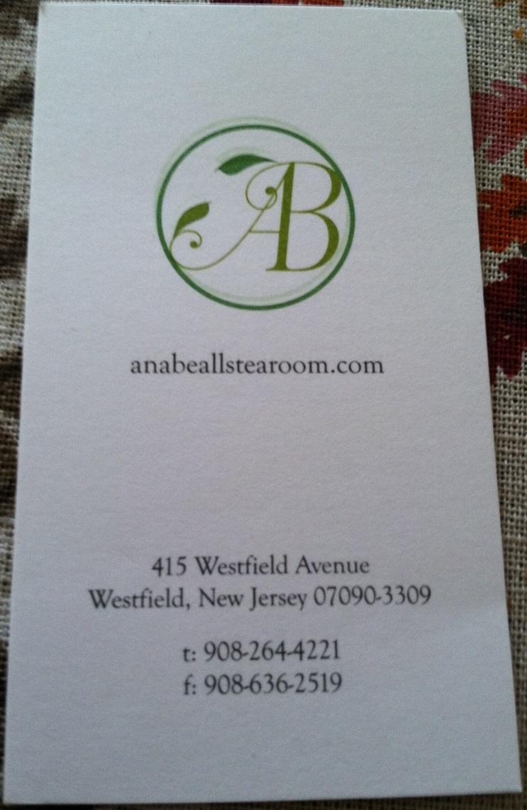 Ana Bealls Tea Room