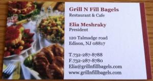 Grill n Fill Bagels
