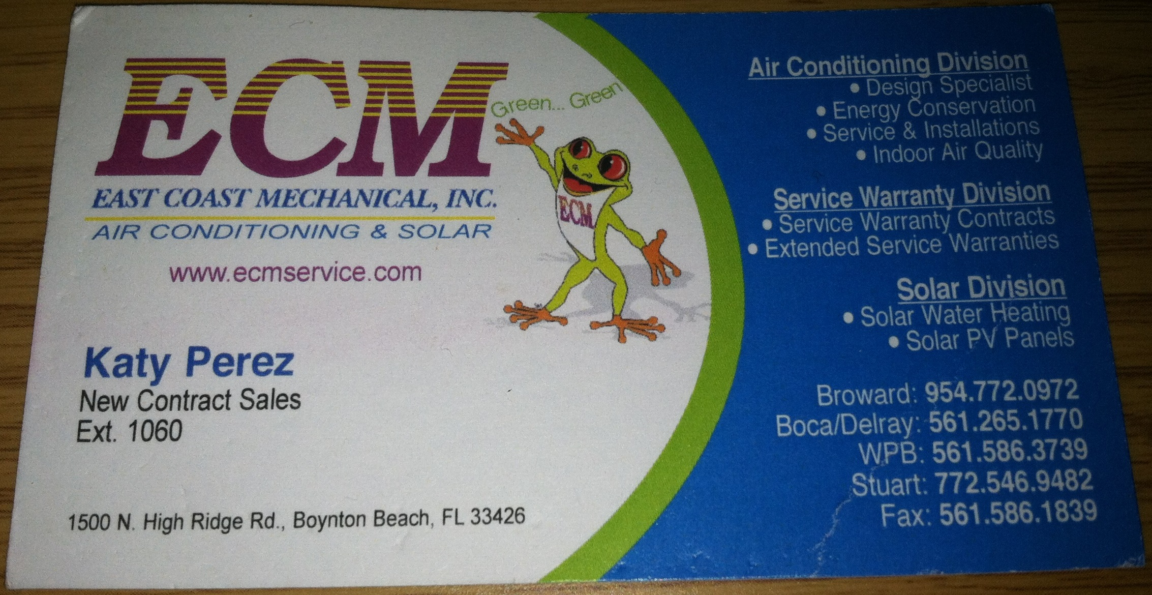 Disneys a business card disappointment east coast mechanical reheart Images