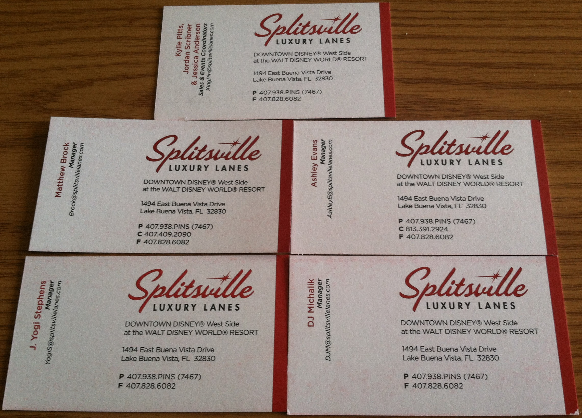 Disneys a business card disappointment splitsville luxury lanes colourmoves