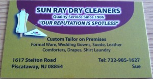 Sun Ray Dry Cleaners