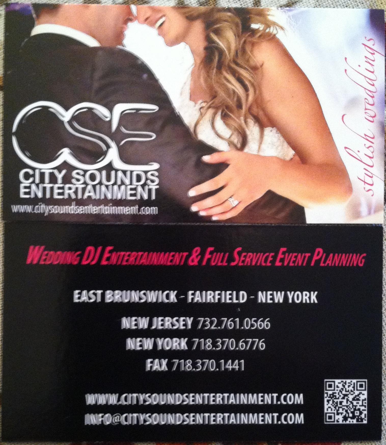 City Sounds Entertainment