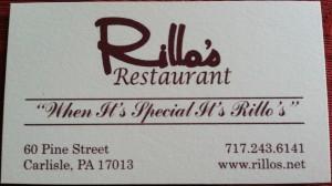 Rillo's Restaurant