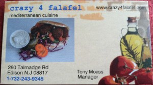 Crazy 4 Falafel