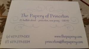 Papery of Princeton