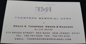Thompson Memorial Home