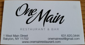One Main Restaurant and Bar