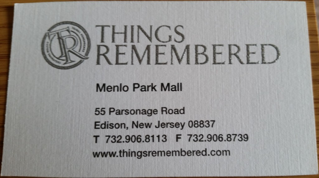 Things Remembered Edison NJ