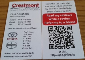 Crestmont Toyota Paul Abraham