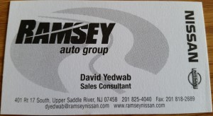 Ramsey Nissan David Yedwab