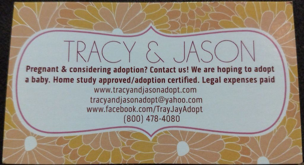 Tracy and Jason Adopt