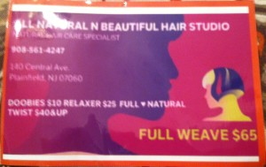 All Natural N Beautiful Hair Studio
