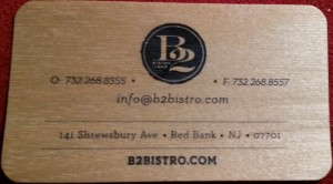 B2 Bistro Red Bank NJ