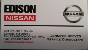 Edison Nissan Service