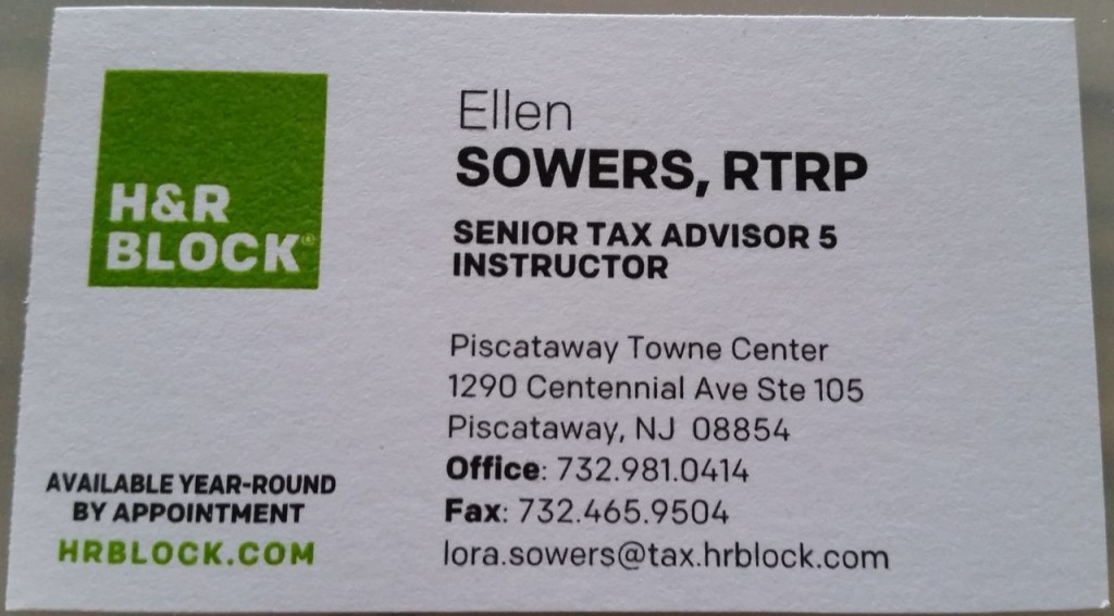 Ellen Sowers H&R Block