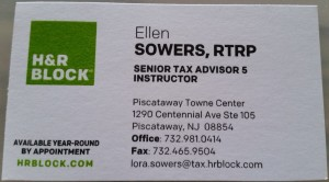 Ellen Sowers H&R Block