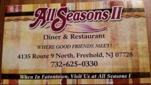 All Seasons 2 Freehold NJ