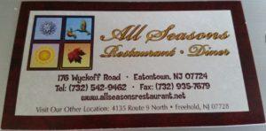 All Seasons Eatontown NJ