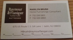 Marilyn Brush Raymour and Flanagan