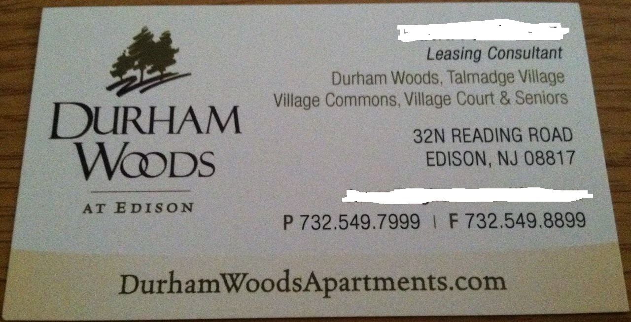 Why You Shouldn\'t Live in Durham Woods of Edison NJ