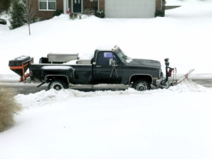 Durham Woods Snow Plowing