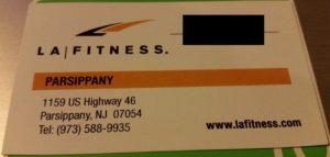 LA Fitness Parsippany NJ