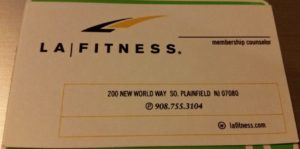 LA Fitness South Plainfield NJ