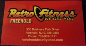 Retro Fitness Freehold NJ