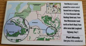 Port Moody Map
