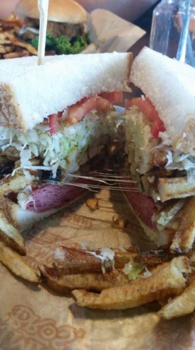 Primanti Bros Corned Beef Sandwich