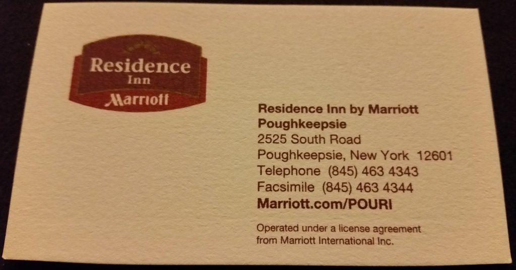 Residence Inn Poughkeepsie NY