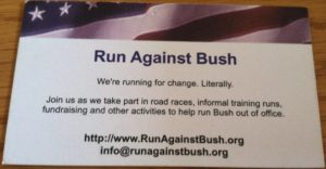 Run Against Bush