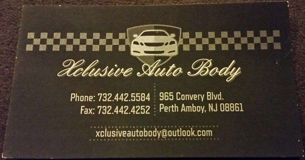 Xclusive Auto Body Perth Amboy NJ