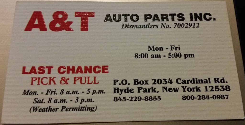 A and T Auto Parts