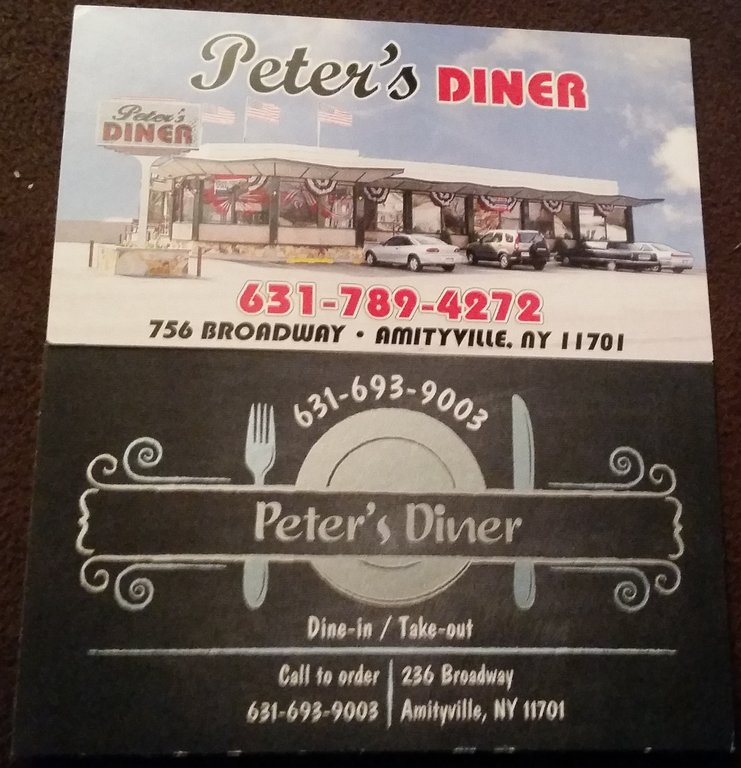 Peters Diner Amityville NY
