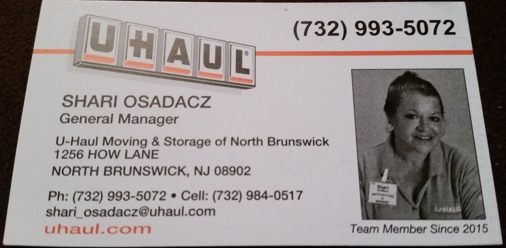 Uhaul North Brunswick NJ