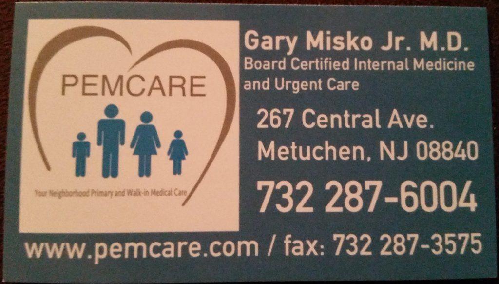 Dr Gary Misko Pemcare