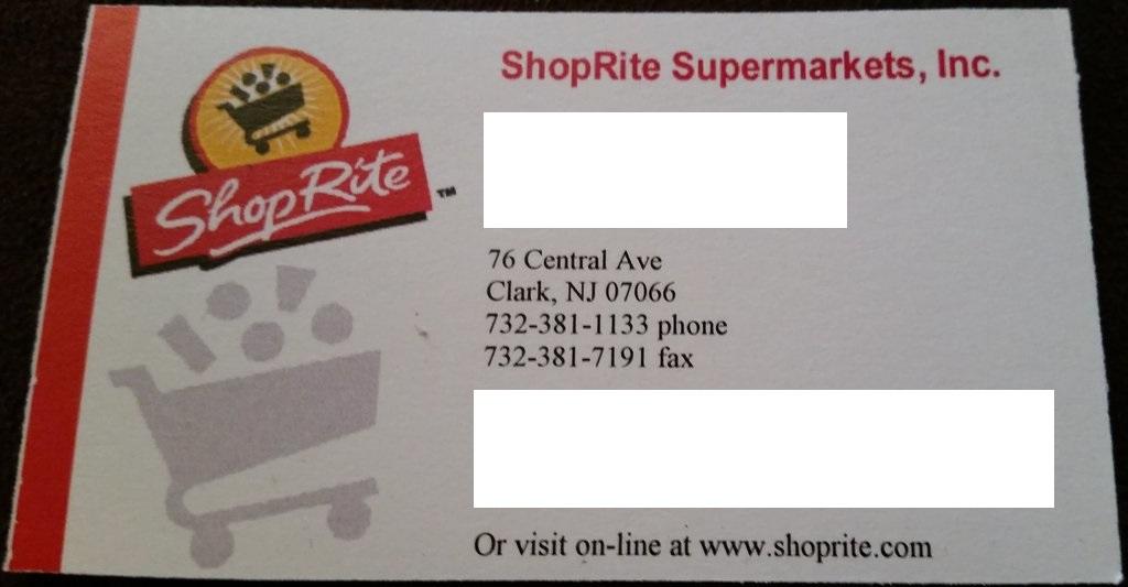 ShopRite Clark NJ