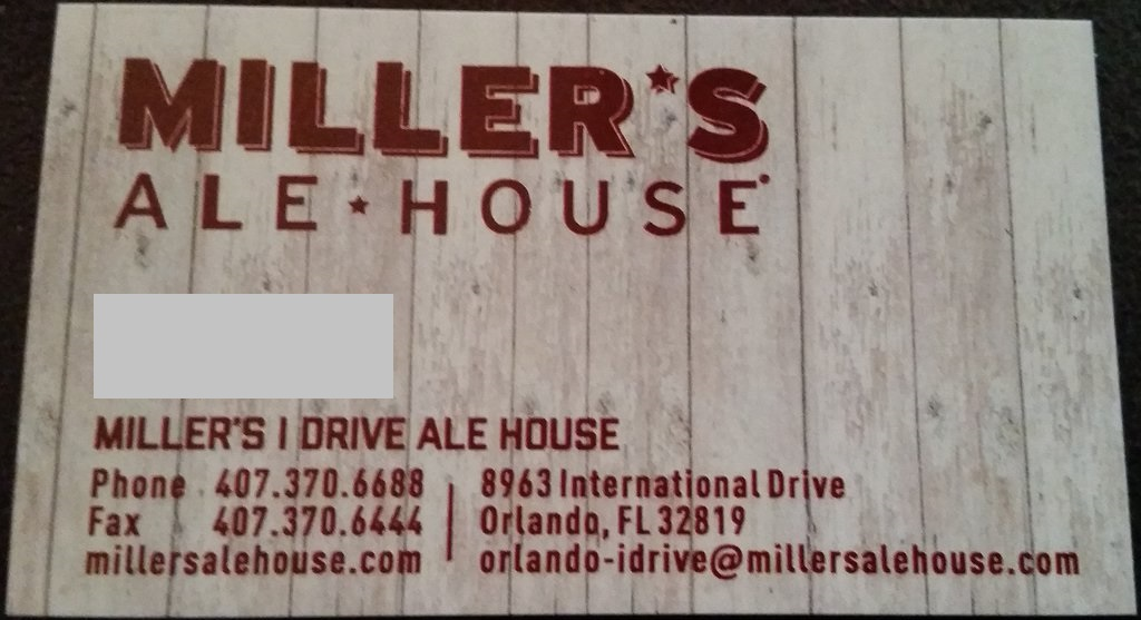 Millers Ale House Orlando FL