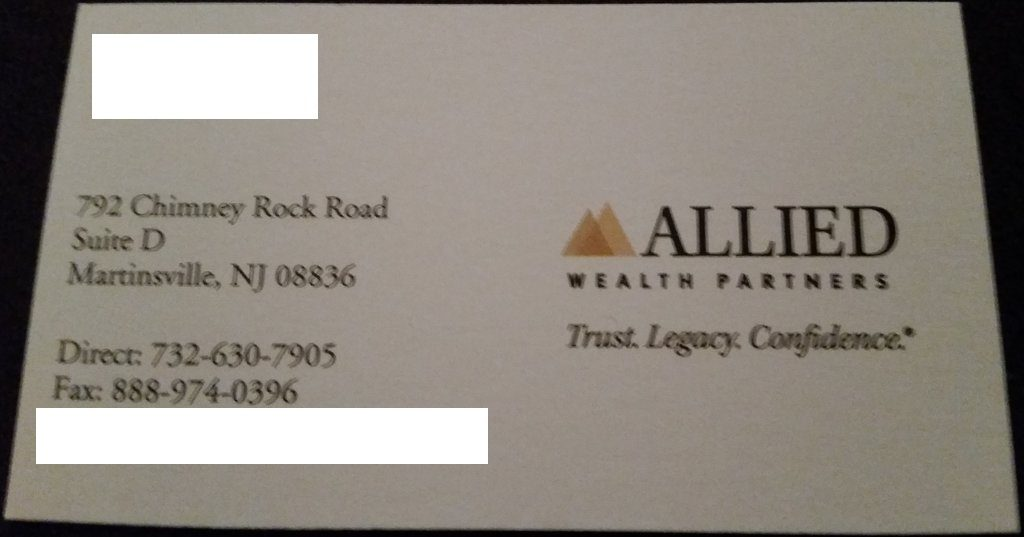 Allied Wealth Partners Martinsville NJ
