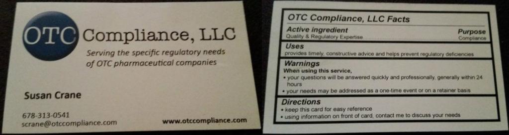 OTC Compliance