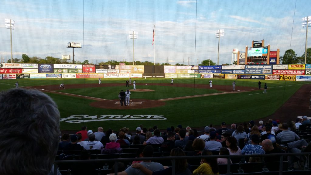 Somerset Patriots vs Bridgeport Bluefish