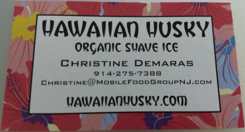 Hawaiian Husky Organic Shave Ice