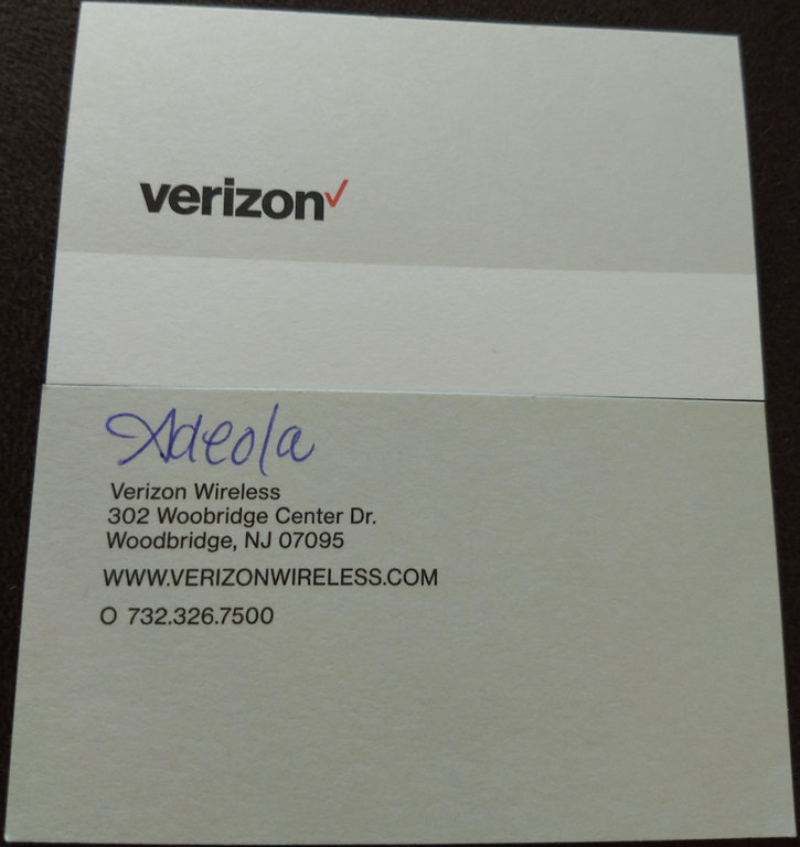 Verizon Wireless Woodbridge NJ