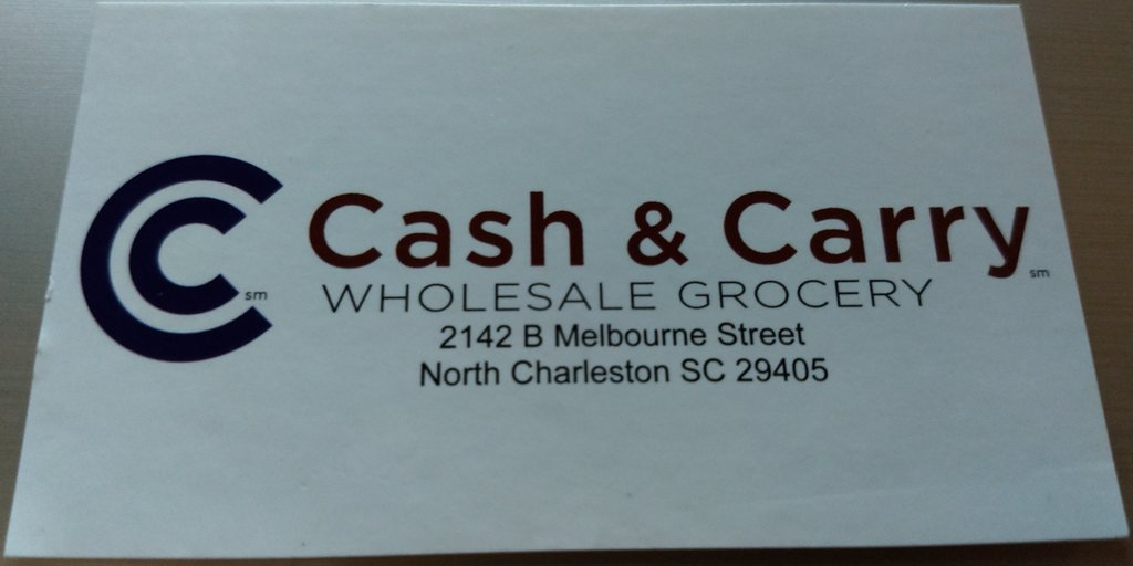 Cash Carry Wholesale Grocery North Charleston SC
