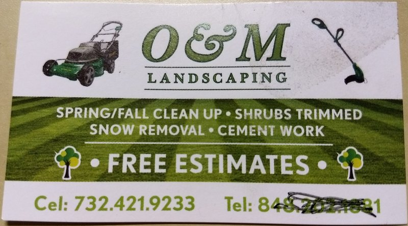 O and M Landscaping
